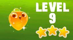 Farm Heroes Super Saga - 3 Stars Walkthrough Level 9