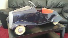 1930s French Art Deco Vintage Pedal.Car .