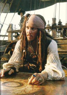 Captain Jack Sparrow observing his map.. :)