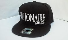 Hey, I found this really awesome Etsy listing at https://www.etsy.com/listing/224059735/black-snapback-hat-black-hat-billionaire