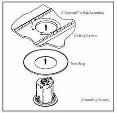 JBL MTC24TR Trim Ring Retrofit for Control 24C/CT
