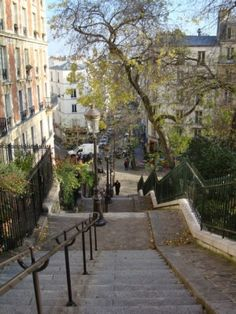 Montmartre. Makes me sigh with nostalgia.