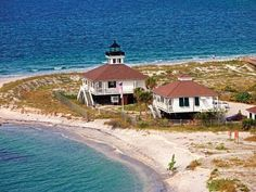 The house-dwelling style Boca Grande lighthouse on Gasparilla Island  features a vivid history museum with a new fossil exhibit, hands-on ar...