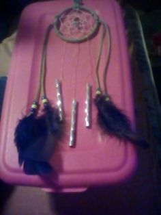Check out this item in my Etsy shop https://www.etsy.com/listing/295374313/dreamcatcher-windchime