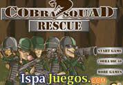 Juego de Cobra Squad Rescue   JUEGOS GRATIS Arma tu mejor estrategia para defenderte de los ataques enemigos de la armada contraria  http://www.ispajuegos.com/jugar6801-Cobra-Squad-Rescue.html