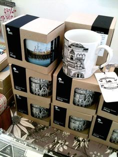 Future Shelter: New Mugs - William Street collection