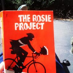Loving this! #therosieproject #graemesimsion #amreading #books #bookstagram #sunnyday #Melbourne #read #reading