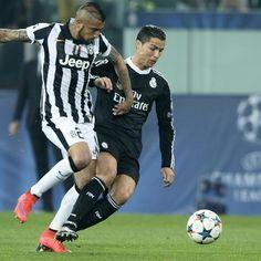 Arturo #Vidal contro #CristianoRonaldo
