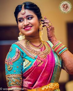 Latest Jeweled Blouse designs for 2019 Saree Jacket Designs, Wedding Saree Blouse Designs, Pattu Saree Blouse Designs, Half Saree Designs, Silk Saree Blouse Designs, Fancy Blouse Designs, Sari Blouse, Indian Blouse, Hand Work Blouse Design