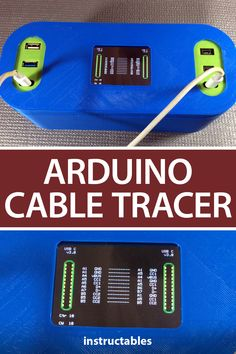 TechKiwiGadgets created this Arduino cable tracer which can instantly diagnose the type and integrity of USB cables. Suitable to trace USB A, Mini, Mico, and USB-C cables this is very useful to identify the exact wiring configuration and also diagnose broken connections. #Instructables #electronics #technology #microcontroller #3Dprint Useful Arduino Projects, Survival Knots, Splash Screen, Integrity, Cable, Usb, Technology, Type, Mini