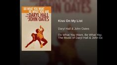 Kiss On My List - YouTube