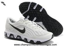 2013 Nike Air Max Tailwind 6 Mens Shoes White Black