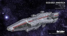 Outsider: Terran Heavy Cruiser by ~AriochIV on deviantART