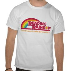Retro Rainbow Tees (Funny, humour, clever, interesting, t-shirts, tee, tees, t shirt, tshirt, fun, creative, graphic, text)
