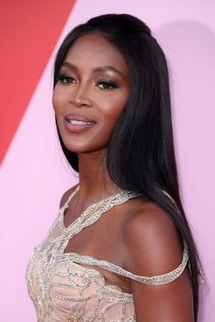 Naomi Campbell | Hair inspiration | Cannes 2017 Red-Carpet Beauty | British Vogue
