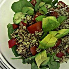 Red Quinoa and Avocado Salad recipe