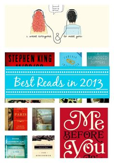 The Top Ten Books Read in 2013 from MomAdvice.com.