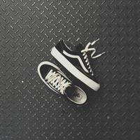 Vans OG Style 36 LX - Black / Marshmallow                      – Kith Vulcanized Rubber, Cotton Lace, Marshmallow, Footwear, Vans, Sneakers, Leather, Color, Black
