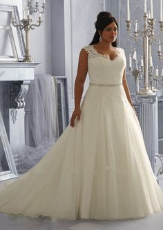 New Arrival Sexy Cap Sleeve Ivory White Beaded Lace Appliques Plus Size  Wedding Dresses 2016 b6bae16c16b6