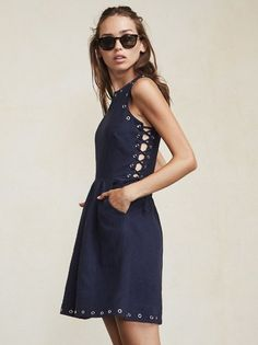 Sometimes a regular dress just doesn't cut it. The Bronco Dress is the perfect combination of easy mini dress and something extra special. https://www.thereformation.com/products/bronco-dress-sueno?utm_source=pinterest&utm_medium=organic&utm_campaign=PinterestOwnedPins