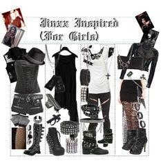 """""""Jinxx Inspired (For Girls)"""" by xxxbloodyrosexxx on Polyvore"""