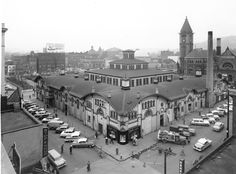 The Allegheny Market House, demolished in 1966, took up a block at the intersection of Federal and East Ohio