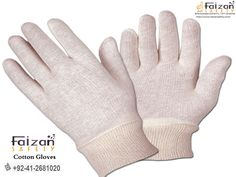 Faizan Safety Gloves is leading manufacturer, distributor, and exporter of safety work gloves. Our focus from the beginning as been on high-quality work gloves, which hasn't changed. Safety Gloves, Cotton Gloves, Mixed Fiber, Led Manufacturers, Work Gloves, Workplace, Safety Work, Fields, Office Workspace