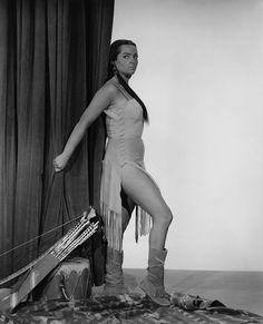 Sarita Montiel - Run of the Arrow (1957)