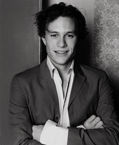 Twitter / HeathUltimate: #HeathLedger photo of the day: ...