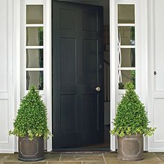 Simple and elegant entry