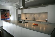 Arbeitsplatte Beton küchenarbeitsplatten küchenplatte regale