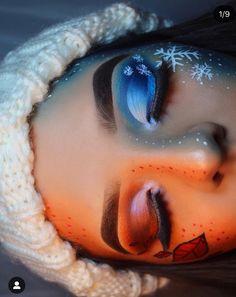christmas makeup Christmas MakeupMakeup Ideas LooksChristmas Day Makeup Looks to Try This Season; Christmas makeup looks; Makeup Looks Winter, Makeup Eye Looks, Eye Makeup Art, Halloween Makeup Looks, Crazy Makeup, Pretty Makeup, Winter Looks, Makeup Eyeshadow, Stunning Makeup