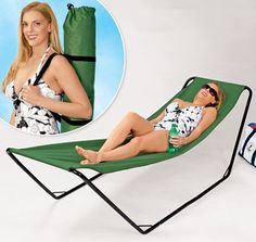 I think i need this Portable Hammock!!!