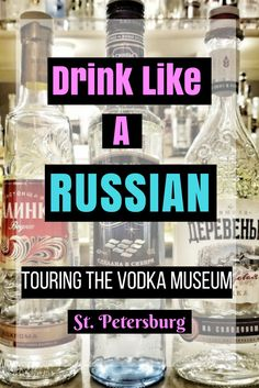 When in Russia, do as the Russians do - Drink VODKA!