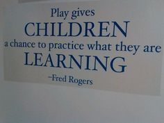 Mr rogers on play