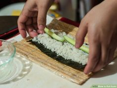 Image titled Roll Sushi Step 4