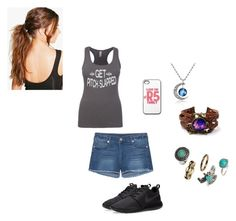 """""""Day Two"""" by this-is-me-destiny on Polyvore featuring True Religion, H&M, NIKE and Boohoo"""