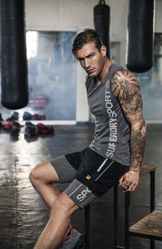 Men's Gym Clothes | Gym Wear for Men | Superdry Sport http://www.uksportsoutdoors.com/product/gore-running-wear-mens-x-x-ultra-shorts-redblack-small/