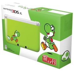 Yoshi fans can now have their very own Yoshi branded Nintendo XL. This Nintendo XL - Yoshi Edition looks great and combines next-generation portable Nintendo Ds, Nintendo Games, Wii Games, Yoshi, Super Smash Bros, Super Mario Bros, Wii U, Xbox One, Playstation