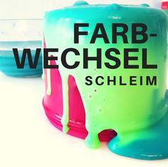 Farbwechsel Schleim selber machen: Einfaches DIY-Rezept mit Schritt für Schritt Anleitung für selbstgemachten Jiggly Slime! (Clear Slime)