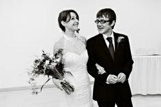 Bride and Groom just married! #weddings #weddingphotography #newlyweds #marriedcouple