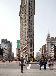 Gormley takes his statues to New York Antony Gormley: Antony Gormley sculpture in New YorkAntony Gormley: Antony Gormley sculpture in New York