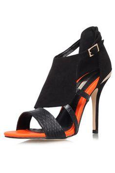 **Honest Heel Sandals by Miss KG