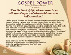 Gospel Power, Tuesday - 3rd Week of Easter