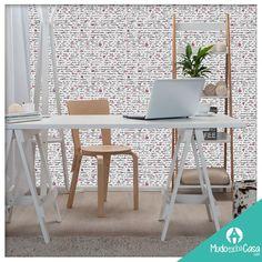 Linda opção de papel de parede para seu quarto, home office ou escritório!