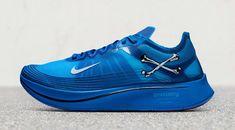 31281b705e39d9 Nike Zoom Fly SP Gyakusou Royal Blue Release Date Sneaker Bar