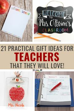 Practical Gift Ideas For Teachers That They Will Actually Want – Presents For Mom Best Teacher Gifts, Teacher Christmas Gifts, Best Gifts, Holiday Gifts, Presents For Mom, Gifts For Mom, Homemade Gifts, Diy Gifts, Unique Gifts For Men