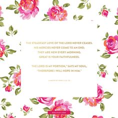 currently my inbox background. I love the font, the colors, the big, hot pink flowers & the gold!!! (Emily Ley)