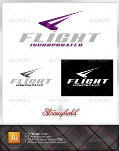 Flight Incorporated Logo — Vector EPS #bird #architecture • Available here → https://graphicriver.net/item/flight-incorporated-logo/1336117?ref=pxcr
