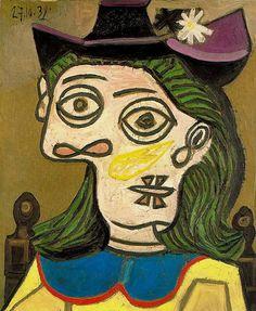 """""""Dora Maar"""" (1939), do espanhol Pablo Picasso."""